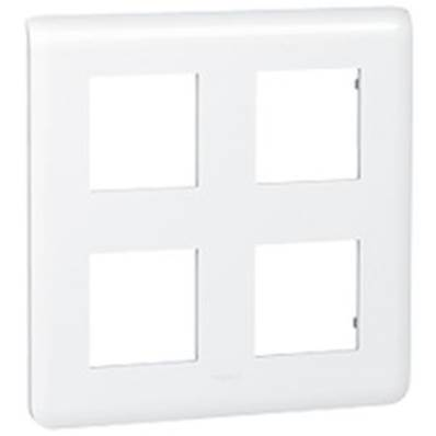 Plaque enjoliveur 2x4 modules  - 78838