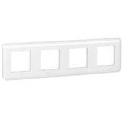 Plaque enjoliveur 4x2 modules horizontal - 78808