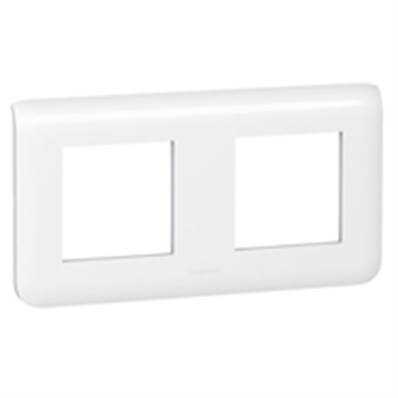 Plaque enjoliveur 2x2 modules horizontal  - 78804L