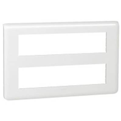 Plaque enjoliveur 2x10 modules horizontal - 78828