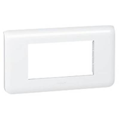 Plaque enjoliveur 4 modules horizontal - 78814L