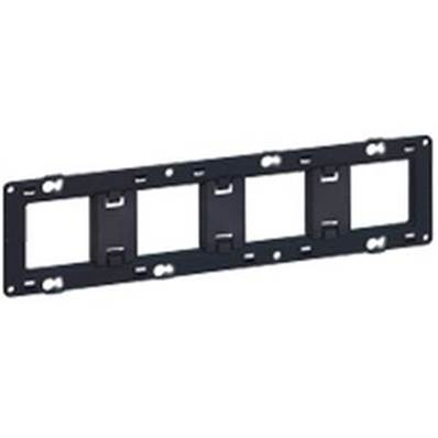 Support 4x2 modules horizontal 80254
